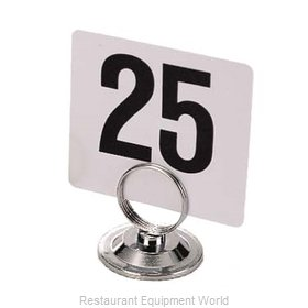 Admiral Craft DMH-3 Menu Card Holder / Number Stand