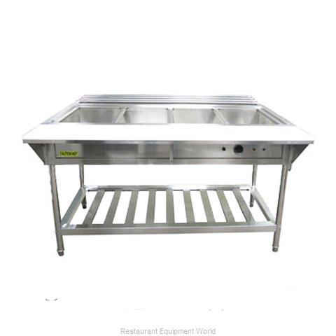 Admiral Craft EST-240 Serving Counter, Hot Food, Electric