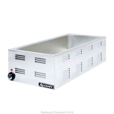 Adcraft FW-1500W Food Warmer Bain Marie Countertop Electric (Magnified)
