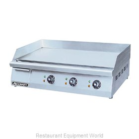 Admiral Craft GRID-30 Griddle, Electric, Countertop