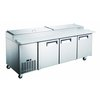 Admiral Craft GRPZ-3D Refrigerated Counter, Pizza Prep Table