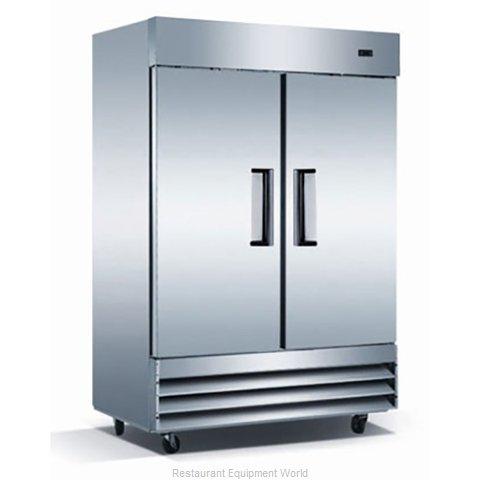 Admiral Craft GRRF-2D Refrigerator, Reach-In
