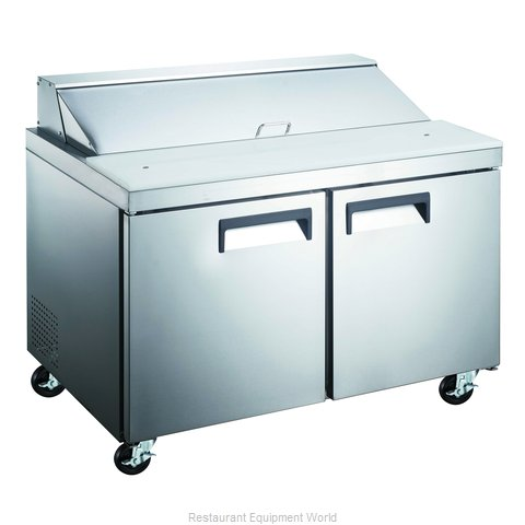 Admiral Craft GRSL-2D/60 Refrigerated Counter, Sandwich / Salad Top