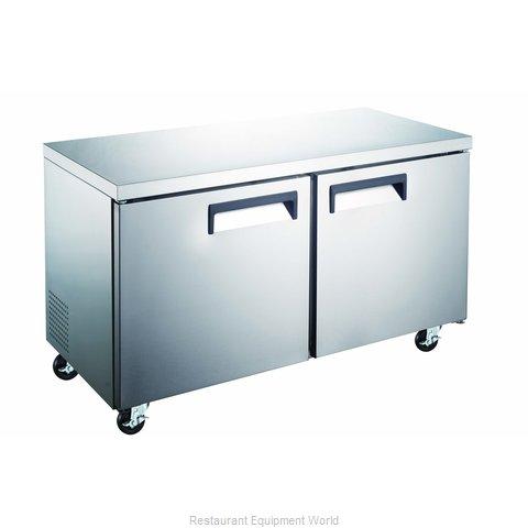 Admiral Craft GRUCRF-48 Refrigerator, Undercounter, Reach-In