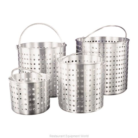 Adcraft H3-SB25 Perforated Basket for Stock Pots