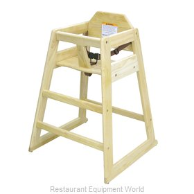 Adcraft HCW-1 Hardwood High Chair