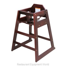 Adcraft HCW-5 Wooden High Chair