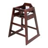 Admiral Craft HCW-5 High Chair, Wood