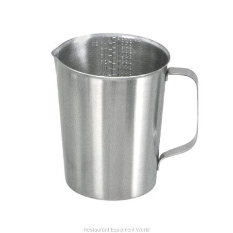 Adcraft HG-64 Stainless Steel Measuring Cup