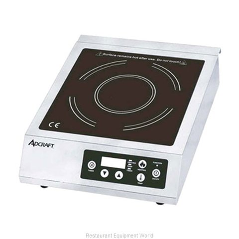 Adcraft IND-B120V Induction Range Countertop (Magnified)