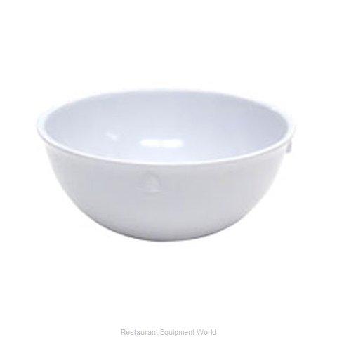 Admiral Craft MEL-BN11W Nappie Oatmeal Bowl, Plastic