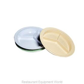 Admiral Craft MEL-PC91W Plate/Platter, Compartment, Plastic