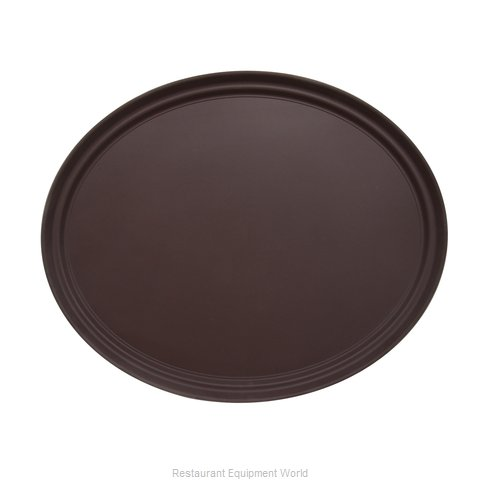 Admiral Craft NST-2025BR/OVAL Serving Tray, Non-Skid