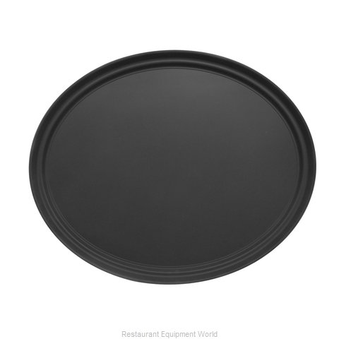 Admiral Craft NST-2227BK/OVAL Serving Tray, Non-Skid