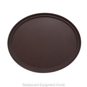 Admiral Craft NST-2429BR/OVAL Serving Tray, Non-Skid
