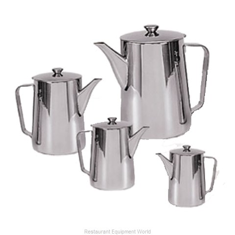 Admiral Craft PGN-72 Coffee Pot/Teapot, Metal (Magnified)