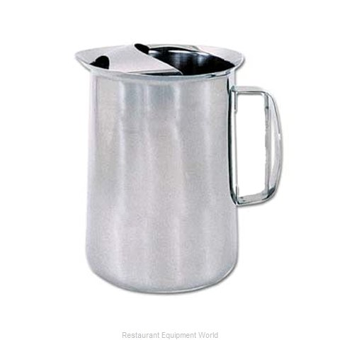 Admiral Craft PHK-3L Pitcher, Stainless Steel (Magnified)