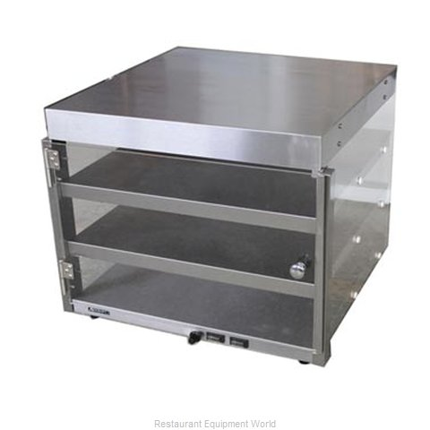 Adcraft PW-20 Heated Countertop Pizza Merchandiser (Magnified)