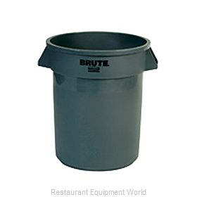 Adcraft R-2620GY Trash Garbage Waste Container