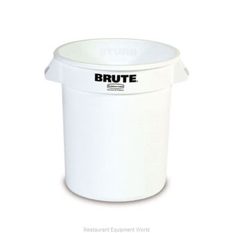 Adcraft R-2620WH Trash Garbage Waste Container