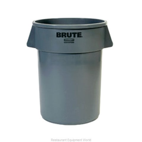 Adcraft R-2643GY Trash Garbage Waste Container Stationary