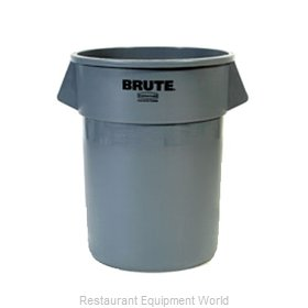 Adcraft R-2655GY Trash Garbage Waste Container Stationary