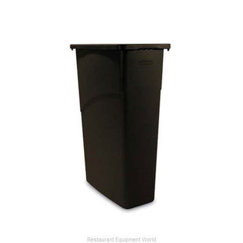 Adcraft R-3540BR Trash Garbage Waste Container Stationary