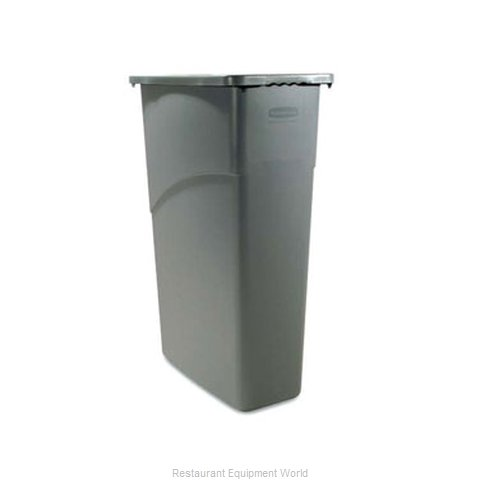 Adcraft R-3540GY Trash Garbage Waste Container Stationary