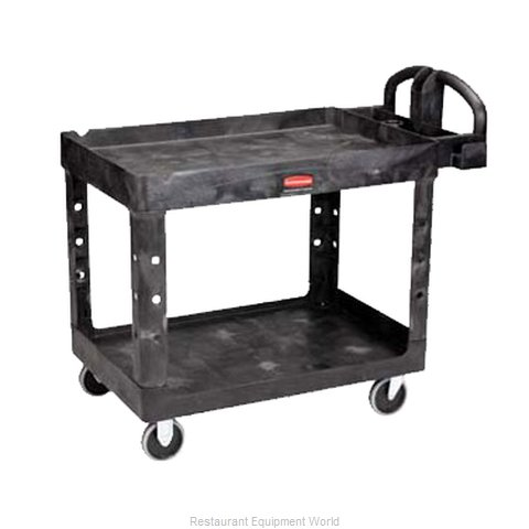Adcraft R-4500BK Utility Cart (Magnified)
