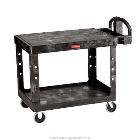 Adcraft R-4505BK Utility Cart (Magnified)