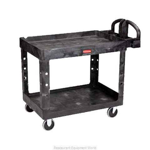 Adcraft R-4520BK Utility Cart (Magnified)