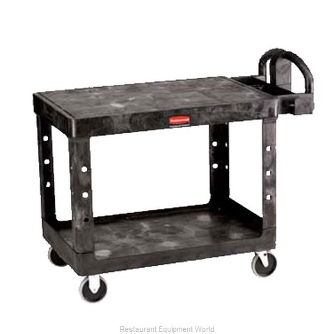 Adcraft R-4525BK Utility Cart (Magnified)