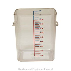 Adcraft R-6322 Food Storage Container Square