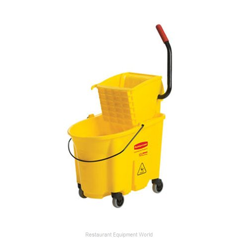 Adcraft R-7580 Mop Bucket Wringer Combination (Magnified)