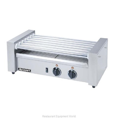 Adcraft RG-07 Hot Dog Grill Roller-Type