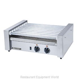 Adcraft RG-09 Hot Dog Grill Roller-Type