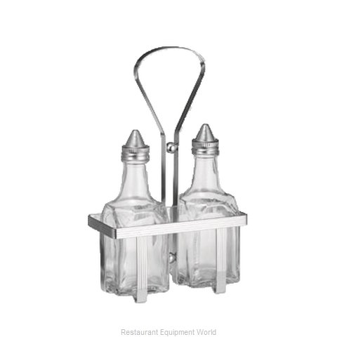 Admiral Craft SHR-2 Oil & Vinegar Cruet, Rack