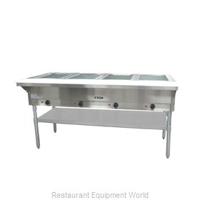 Admiral Craft ST-240/4 Serving Counter, Hot Food, Electric