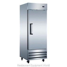 Admiral Craft USRF-1D-E Refrigerator, Reach-In