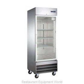 Admiral Craft USRF-1D-G Refrigerator, Reach-In