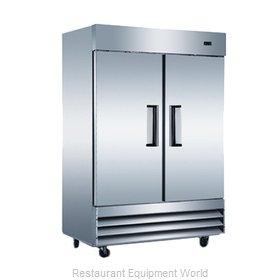 Admiral Craft USRF-2D-E Refrigerator, Reach-In