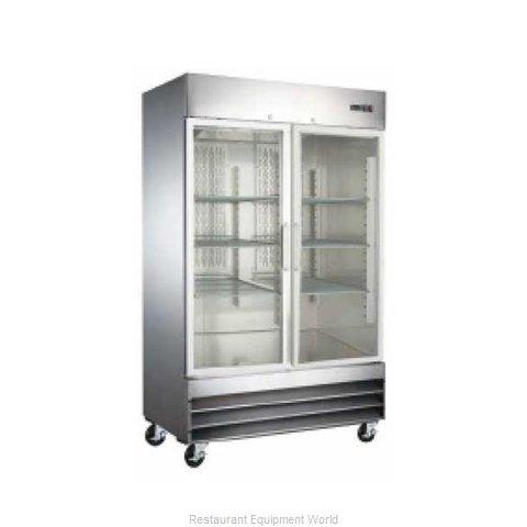 Admiral Craft USRF-2D-G Refrigerator, Reach-In