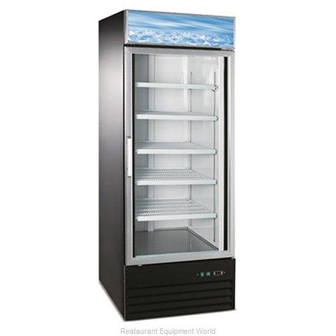 Admiral Craft USRFS-1D/B Refrigerator, Merchandiser