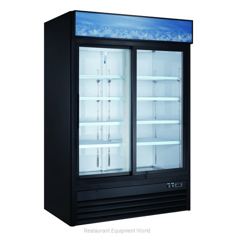 Admiral Craft USRFS-2D/B Refrigerator, Merchandiser