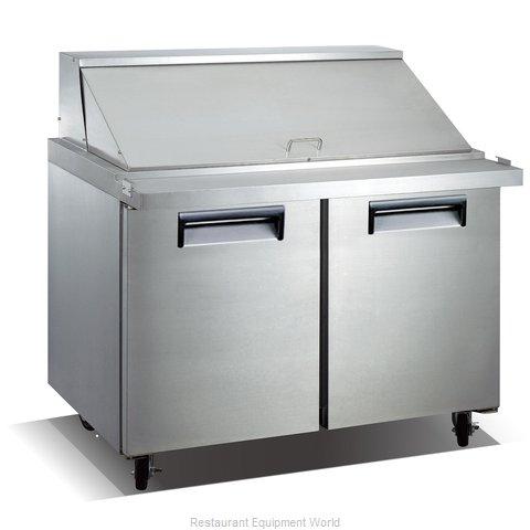 Admiral Craft USSLM-2D Refrigerated Counter, Mega Top Sandwich / Salad Unit