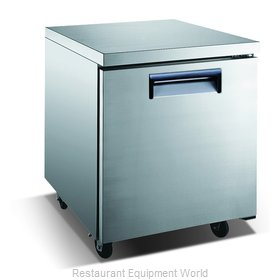 Admiral Craft USUCRF-27 Refrigerator, Undercounter, Reach-In