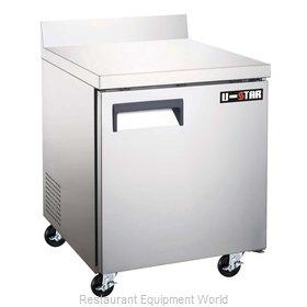 Admiral Craft USWF-1D Freezer Counter, Work Top