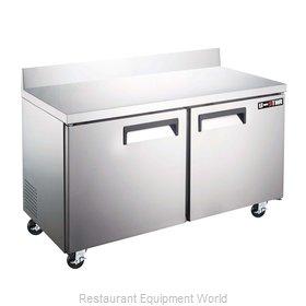 Admiral Craft USWF-2D Freezer Counter, Work Top