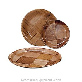 Admiral Craft WWP-10K Plate, Wood