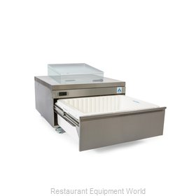 Adande Refrigeration CHEF BASE REAR ENGINE HEAT SHIELD TOP Refrigerator Freezer,